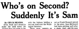 A headline from the Cleveland Plain Dealer on July 7, 1970