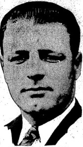 A photo of Buzz Arlett in The Sporting News of Dec. 17, 1931