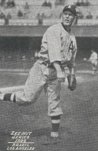 Frank Brazill as a Los Angeles Angel in 1926 (photo from the Dave Eskenazi Collection)