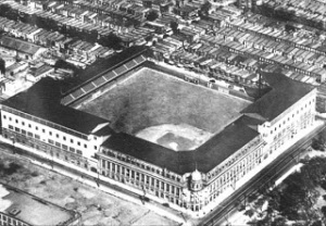 Philadelphia's Shibe Park, site of Babe Ruth's 1930 three-homer game