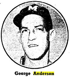 Sparky Anderson as a Montreal Royal in 1956