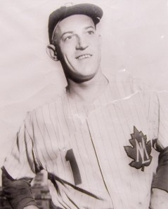 Sparky Anderson as a Toronto Maple Leaf