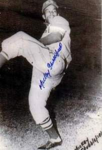 Mickey Stubblefield with the Kansas City Monarchs