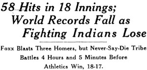 From the Cleveland Plain Dealer front page, July 11, 1932