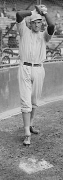 Eddie Rommel (no, they didn't pitch from home plate back in those days)