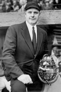 Eddie Rommel spent 22 years as an American League umpire (1938-59) after his playing career