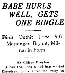 Headline in the New Orleans Times-Picayune, March 26, 1934